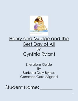 Henry and Mudge and the Best Day of All Literature Guide