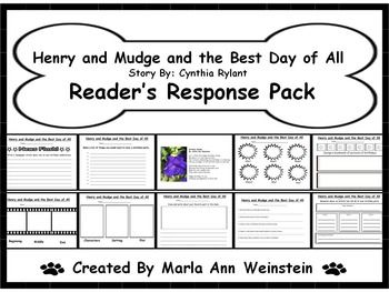Henry and Mudge and the Best Day of All Reader's Response Pack
