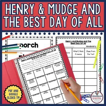 Henry and Mudge and the Best Day of All Book Companion