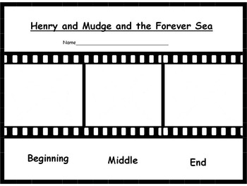 Henry and Mudge and the Forever Sea Reader's Response Pack