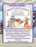 Henry and Mudge and the Funny Lunch ELA Reading Study Guide