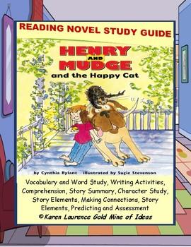 Henry and Mudge and the Happy Cat ELA Reading Novel Litera