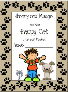 Henry and Mudge and the Happy Cat Literacy Pack