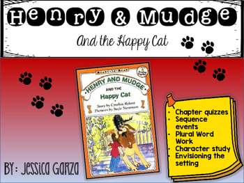Henry and Mudge and the Happy Cat NOVEL STUDY