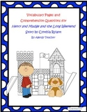 Henry and Mudge and the Long Weekend Vocabulary and Compre