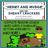 Henry and Mudge and the Sneaky Crackers Plan Guided Readin