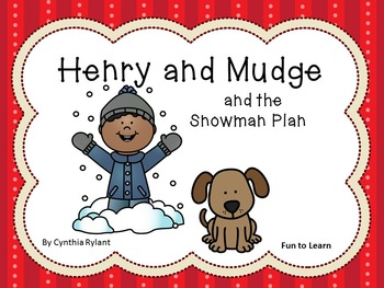 Henry and Mudge and the Snowman Plan ~ 25 pgs. Common Core Activities