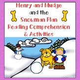 Henry and Mudge and the Snowman Plan Comprehension and Activities