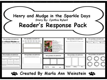 Henry and Mudge in the Sparkle Days Reader's Response Pack