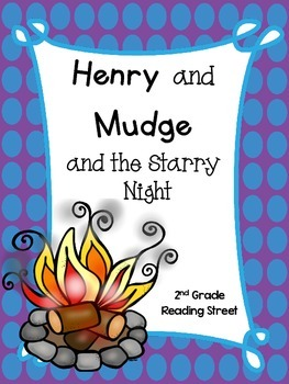 Henry and Mudge and the Starry Night, 2nd Grade, Centers a