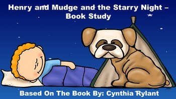 Henry and Mudge and the Starry Night - Book Study