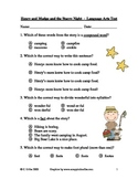 Henry and Mudge and the Starry Night ~ Language Arts Test/Quiz