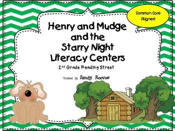 Henry and Mudge and the Starry Night Literacy Centers 2nd Reading Street