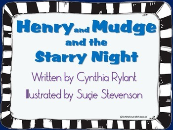 Henry and Mudge and the Starry Night Posters