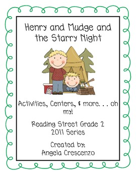 Henry and Mudge and the Starry Night Reading Street Grade 2 2011 & 2013 Series
