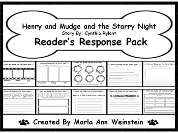 Henry and Mudge and the Starry Night Reader's Response Pack