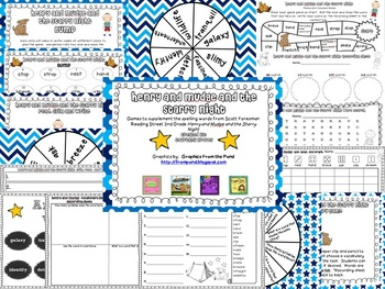Henry and Mudge and the Starry Night Spelling and Vocabulary Games