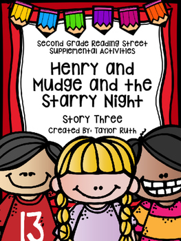 Henry and Mudge and the Starry Night Supplemental Activities (Reading Street)