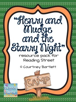 """""""Henry and Mudge and the Starry Night"""" (resources for Reading Street"""""""