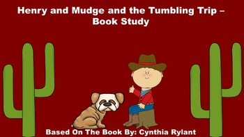 Henry and Mudge and the Tumbling Trip - Book Study