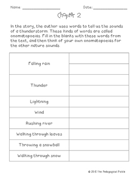 Henry and Mudge and the Wild Wind Comprehension Packet