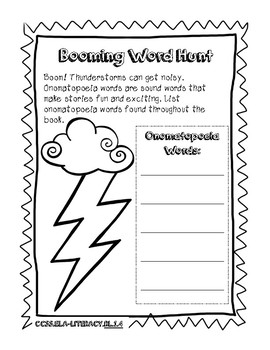 Henry and Mudge and the Wild Wind Literacy Packet
