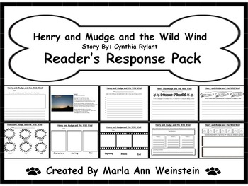 Henry and Mudge and the Wild Wind Reader's Response Pack