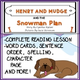 Henry and Mudge and the Snowman Plan Guided Reading Novel Study  No Prep