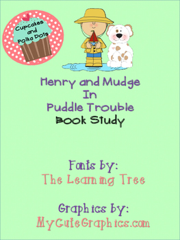 Henry and Mudge in Puddle Trouble Book Study