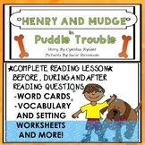 Henry and Mudge in Puddle Trouble Guided Reading Novel Stu