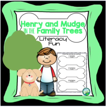 Henry and Mudge in the Family Trees - Literacy Fun!