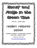 Henry and Mudge in the Green Time Reader Response Packet