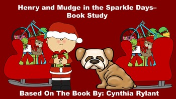 Henry and Mudge in the Sparkle Days - Book Study