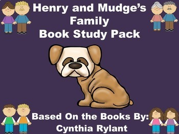 Henry and Mudge's Family Book Study Pack