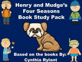 Henry and Mudge's Four Seasons Book Study Pack Bundle
