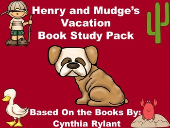 Henry and Mudge's Vacation Book Study Pack
