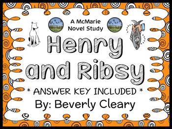 Henry and Ribsy (Beverly Cleary) Novel Study / Reading Comprehension Unit