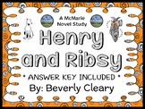 Henry and Ribsy (Beverly Cleary) Novel Study / Reading Com