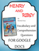 Henry and Ribsy - Comprehension Question & Answers