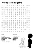 Henry and Ribsy Word Search