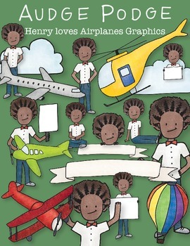 Henry loves Airplanes Graphic Pack