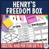 Henry's Freedom Box Literacy Bundle