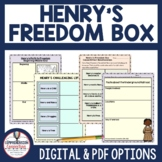 Henry's Freedom Box Book Companion and Lapbook