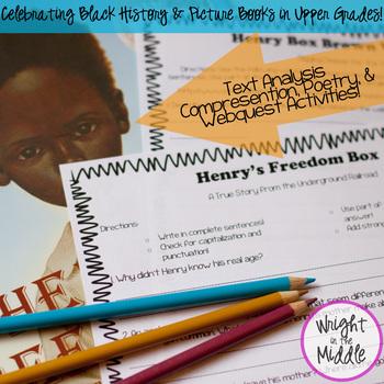 Henry's Freedom Box Book Study & Webquest