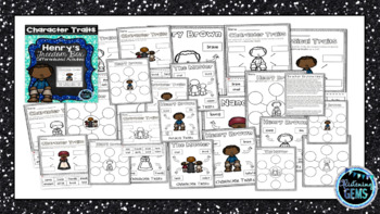 Henry's Freedom Box Character Trait Activities (NO PREP)