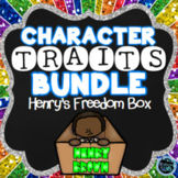 "Henry's Freedom Box Character Traits Bundle - Henry ""Box"" Brown Activities"