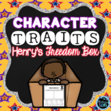 Henry's Freedom Box - Character Traits Sorting
