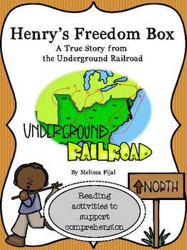 Henry's Freedom Box Comprehension Activities