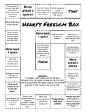 Henry's Freedom Box Comprehension Game Board