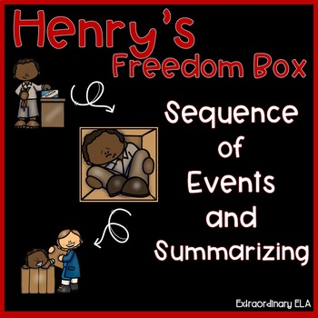 Henry's Freedom Box Sequence of Events and Summarizing